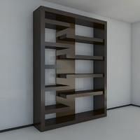 3 bookshelf 2011 max