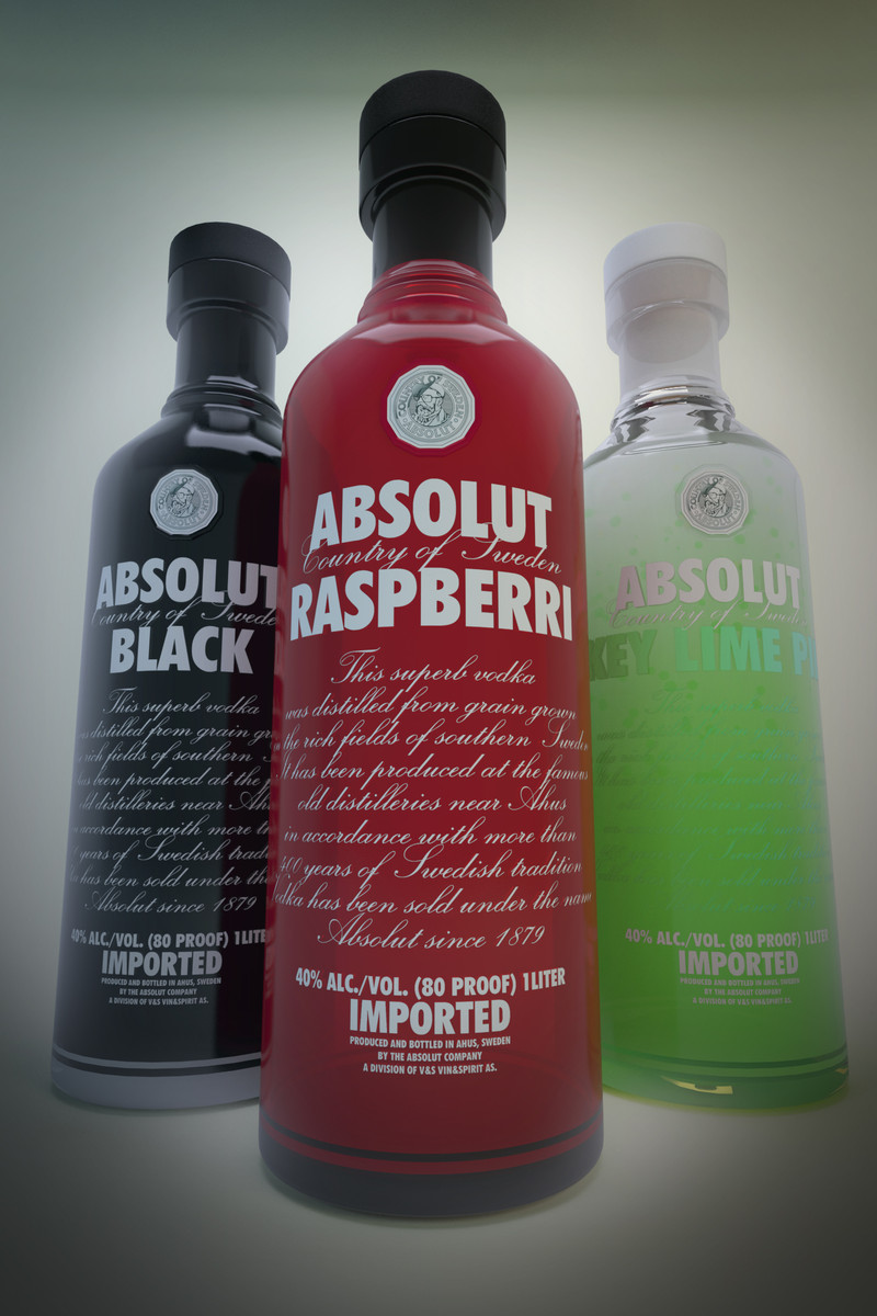 max absolut vodka bottles