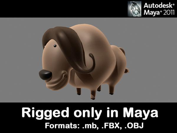 Bull FBX Models for Download | TurboSquid