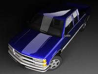 Chevrolet C1500 Mk4 FL Ext Cab