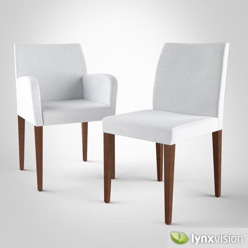 liz chair poltrona frau 3d max