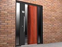 3d entrance door model