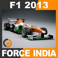 F1 2013 Force India VJM06 - Sahara F1 Team