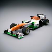 F1 2013 Force India VJM06 - Sahara F1 Team