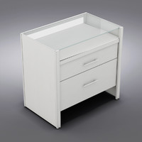 Crate&Barrel - Reese White Compact Office