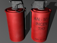 AN-M14 TH3 incendiary hand grenade