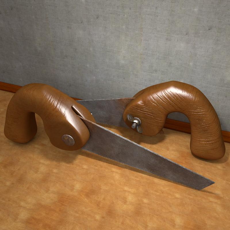 wood saw blade 3d model