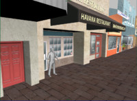 3d little havana formats model