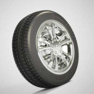 3d tire model