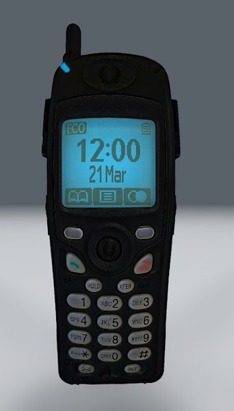 free c4d mode telephone