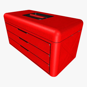 basic tool box 3d model