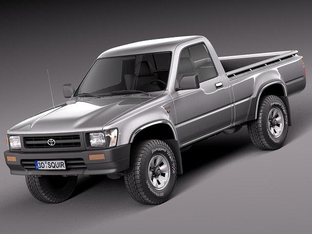 3d model japan 1989 toyota 1997