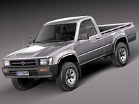 Toyota Hilux Pickup regular cab 1989-1997