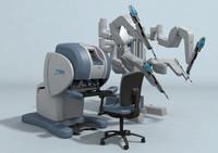 obj da vinci surgical robot