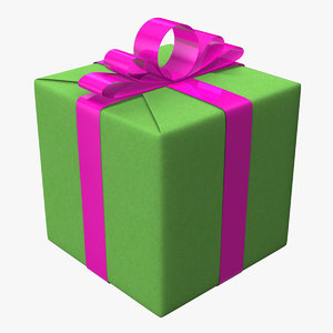 3ds max gift boxe