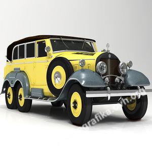 mercedes 1938 3d lwo