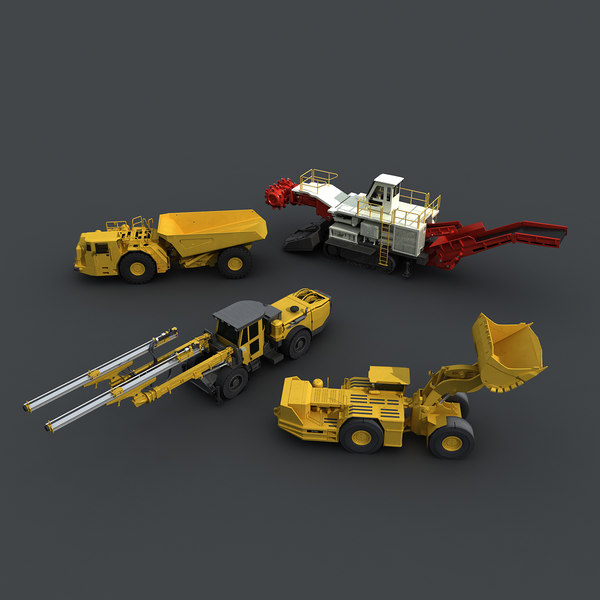 3d max mining underground