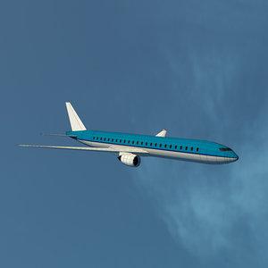 3d model of plane