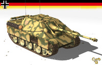 3d model jagdpanther panther