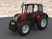 tractor zetor 3d obj