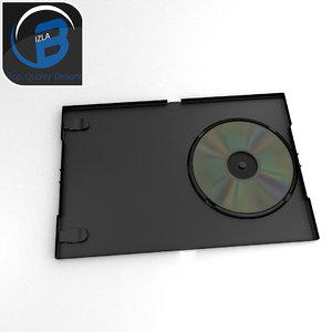 3d model of dvd case
