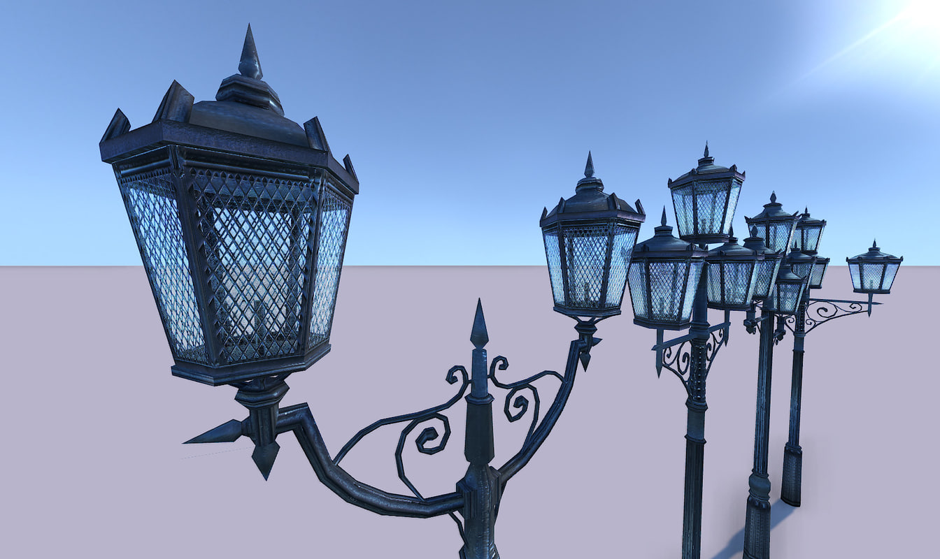 obj street lights