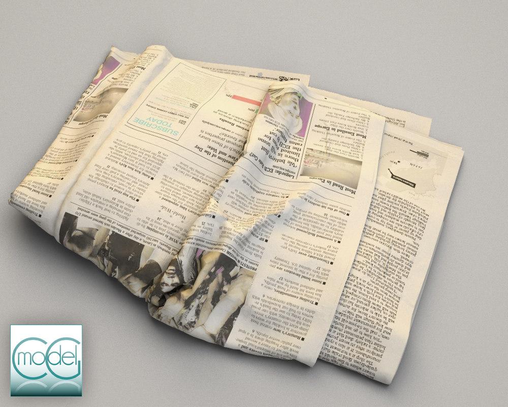 wall street newspaper 3ds