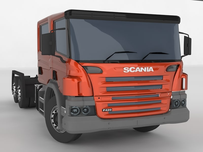 max scania truck head