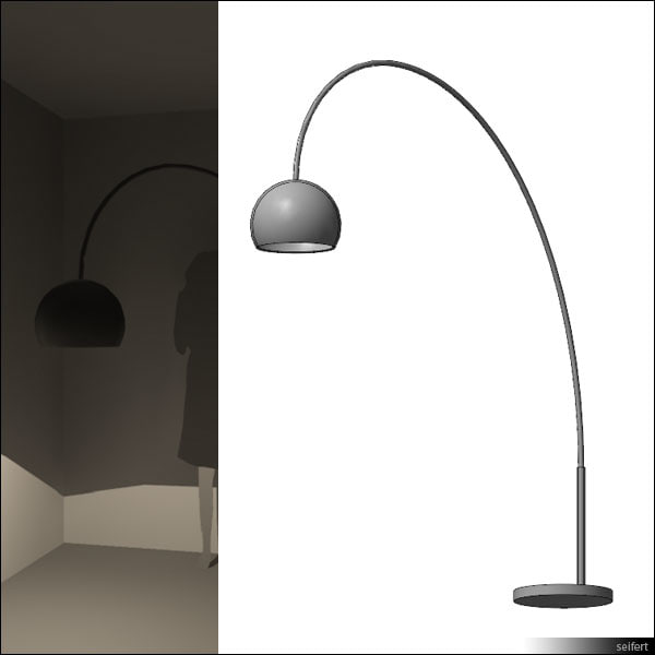 rfa floor lamp