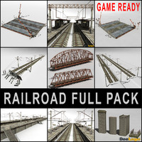 Railroad  Full Pack
