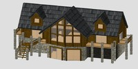 3d log home 2012
