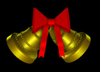 free c4d mode christmas bells