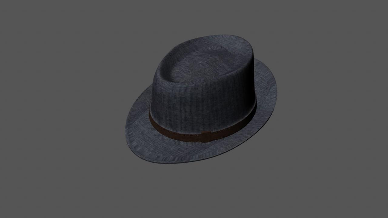 free hat 3d model