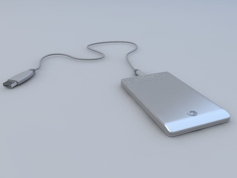 3ds max seagate external hdd