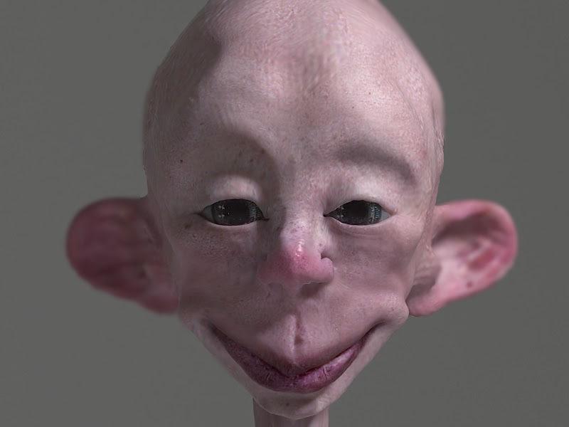 happy alien 3d