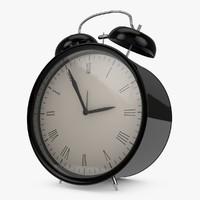c4d classic alarm clock