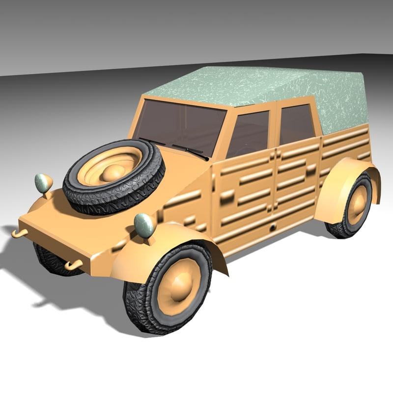 3d model safari jeep suv