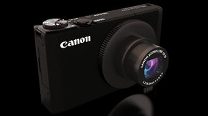 canon powershot s110 digital camera 3d model