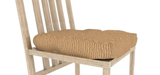 3d 3ds wooden chair