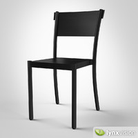 3ds max light easy chair