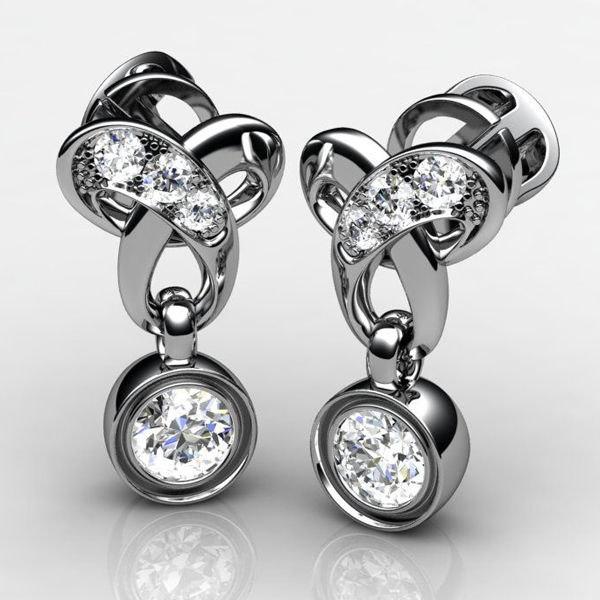 3ds earrings