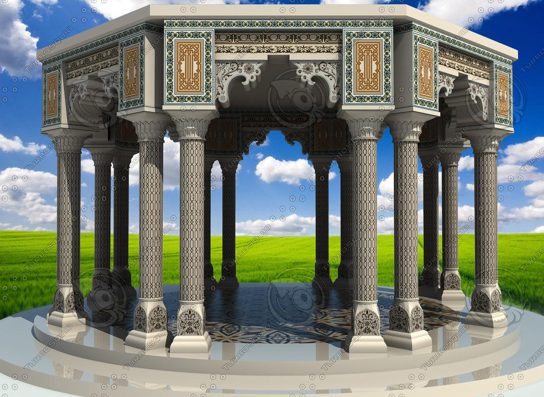 3dsmax islamic art