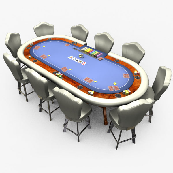 casino poker table - 3ds
