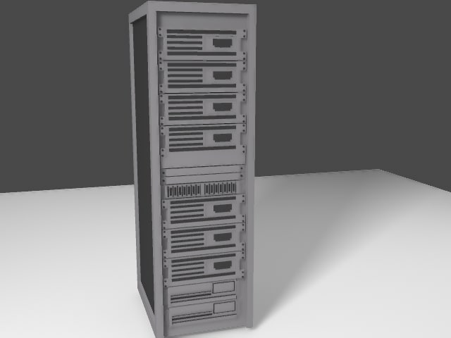 3ds max server tower