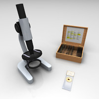 3d simple microscope