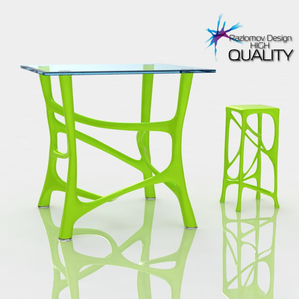 model of table stool