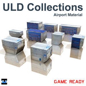 3d model uld alf alp