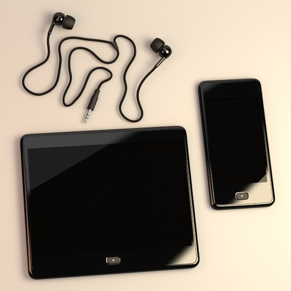 3d model let smartphone s