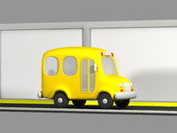 yellow school bus lwo