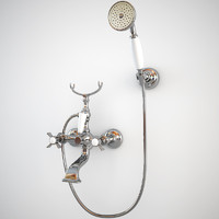 Classic Bath Mixer with Shower